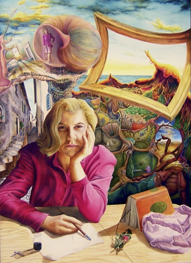 Mag. art. Dagmar R. Ritter: Die Welt der Ruth, ÖL-Gemälde | Art On Screen - [AOS] Magazine