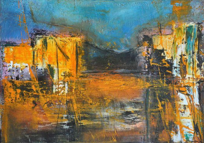 Abstrakte Malerei von Justyna Gadek im [AOS] Magazine:
