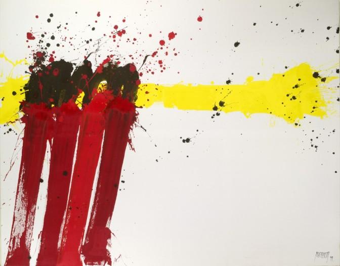 Abstraktion in Österreich. Ausstellung zur Entwicklung der abstrakten Malerei in der Albertina Wien bis zum 6. September 2015.