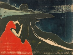 Edvard Munch Melancholie II, 1898 Privatsammlung Courtesy Galleri K, Oslo © Reto Rodolfo Pedrini, Zürich