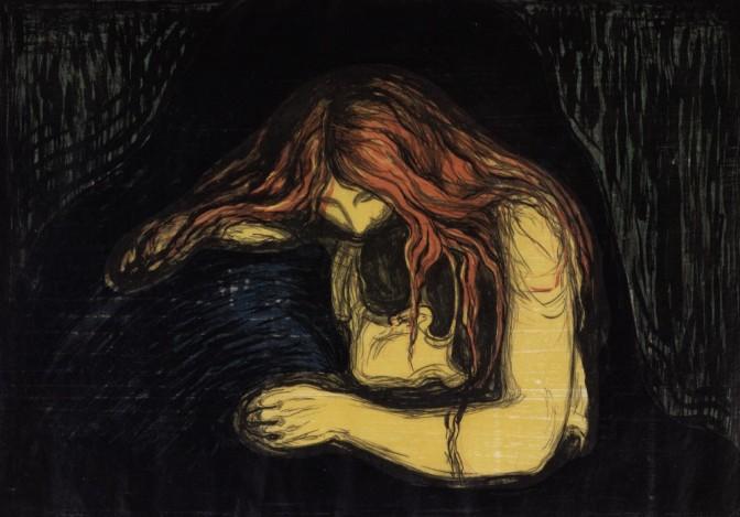 Edvard Munchs Druckgrafiken in der Albertina Wien…