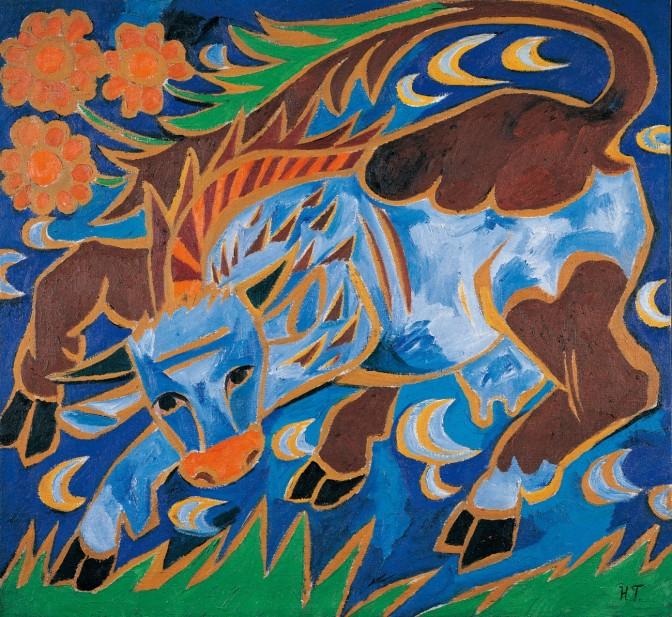 → Bildgalerie zur Ausstellung Chagall bis Malewitsch in der Albertina…