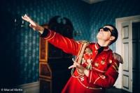 Alexander Kerbst als Falco, Foto © Marcel-Klette
