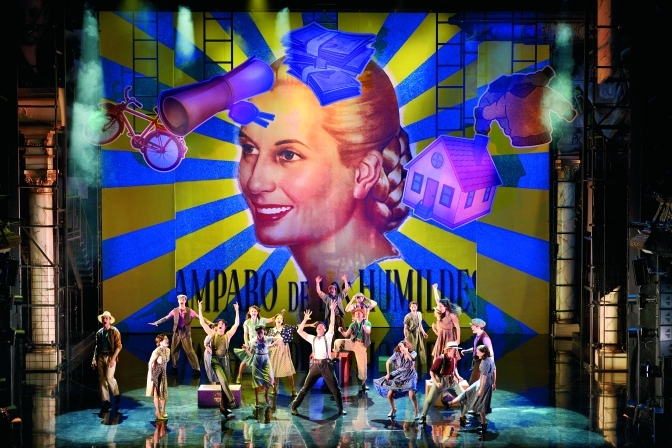EVITA – Hollywood in Vienna…