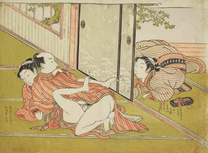 SHUNGA. Erotische Kunst aus Japan – Ich sag`s der Mama…