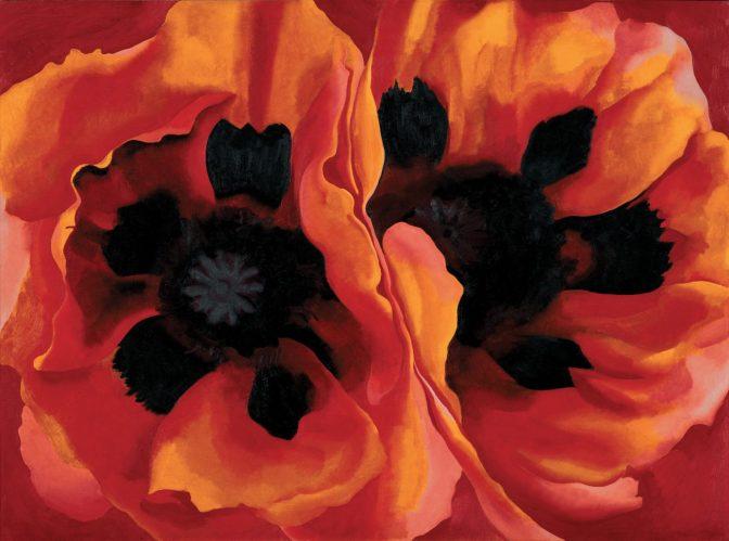 Georgia O'Keeffe – Oriental Poppies, 1927