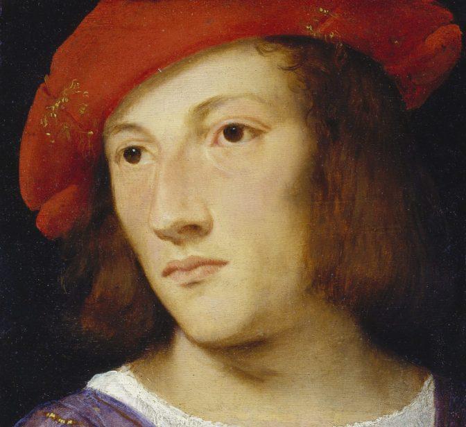 Tizian – Bildnis eines jungen Mannes, um 1510