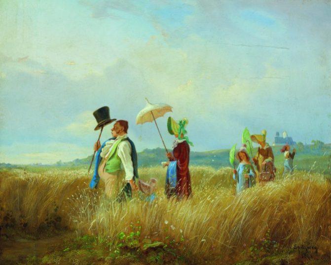 Carl Spitzweg trifft auf Erwin Wurm – erste Spitzweg Ausstellung in Österreich